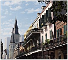 Skyline is French Quarter