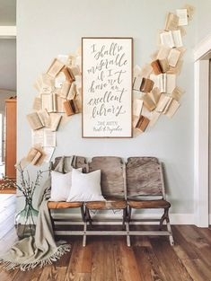 How to create a vintage book wall - Cotton Stem