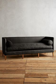 Linen Harper Sofa - anthropologie.com