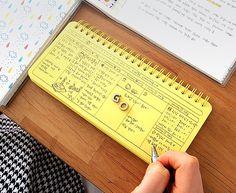 Standing Weekly Scheduler ver.2 / Weekly Planner by DubuDumo