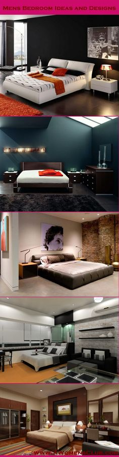 Mens #Bedroom Ideas and #Designs