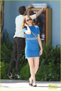 Emma Stone & Ryan Gosling Go On a 'La La Land' Date