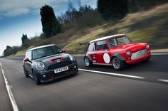 World's fastest Minis - Mini JCW GP vs ZCars Mini Busa - autocar.co.uk