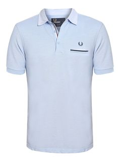 POLO WOVEN COLLAR - AZUL Fred Perry, Mens Polo T Shirts, Polo Ralph Lauren, Menswear, Mens Fashion, Suits, Outfit, Casual, Mens Tops