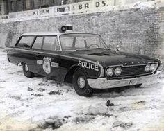 Baltimore in the 1960s | History of Baltimore City Police Vehicles Police Cars