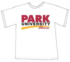 Park University Alumni t-shirts, http://alumnishop.park.edu