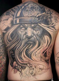 "< div class=""new_cus_post_container""> For most people, the Vikings are primitive people who enjoyed the cold or a Minnesota soccer team. However, for others, the Vikings are much … Heidnisches Tattoo, Pagan Tattoo, Backpiece Tattoo, Norse Tattoo, Full Tattoo, Hero Tattoo, Back Tattoos, Body Art Tattoos, Tribal Tattoos"