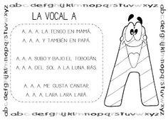 Mi grimorio escolar: CANCIÓN DE LA VOCAL A