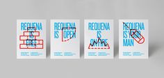 Requena is open on Behance