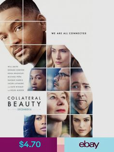 Collateral Beauty - original DS movie poster - D/S 2016 Advance Will Smith Wedding Album Layout, Wedding Album Design, Wedding Card, Creative Photos, Creative Design, Wedding Photography Poses, Portrait Photography, Collateral Beauty, Double Exposure Photography