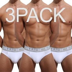 3 Pack hugely discounted offers from Aware Soho on Men s briefs... at  Underwear 5c5d8ac34