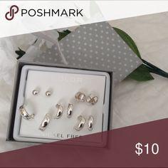 Earrings set Brand new. 5 pairs Jewelry Earrings