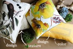 How to Combine Your Decorative Pillows in 3 Ways