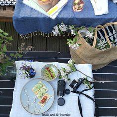 Sommer, Sonne, Sonnendeck - Kleines Fotoshootings vom Picknick auf dem Sonnendeck mit Chippudding und den passenden Utensilien von URBANARA!