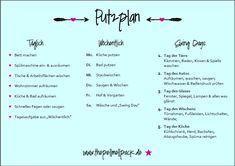 Putzplan – Ja, wir haben einen Putzplan. Mit drei Hunden und Vollzeitjobs ist der unsere Waffe gegen das tägliche Chaos! | Putzplan | Haushalt | Ordnung | Putzen | thepellmellpack.de