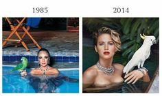 Las tendencias de moda ya no tienen dentro de sus características la originalidad, y estas fotografías demuestran que ya no se tiene nada nuevo qué mostrar.