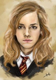 Emma Watson as Hermione by MoishPain.deviantart.com on @DeviantArt