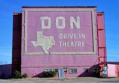 Don Drive-in Theater Port Arthur Texas Color Photo Print Vintage Wall Art, Vintage Ads, Port Arthur Texas, Belleville Illinois, Drive In Movie Theater, Paramount Theater, Oakland California, Historical Photos, Theatres