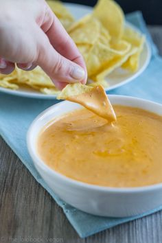 Vegan Nacho Cheese Sauce
