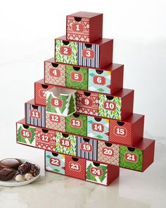 Christmas+Advent+Calendar+by+Mrs.+Prindable's+at+Neiman+Marcus.