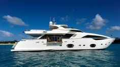 The 30.61 metre Custom Line motor yacht To-Tok, listed for sale by Steve Martin at yachtBlue in Fort Lauderdale, has had a $755,000 price reduction.