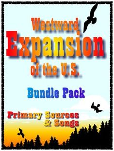 Get all 13 volumes of Primary Sources and Songs to enhance your Westward Movement Unit at a money-saving price. Bundle Pack includes lesson plans, activities, printables and recordings of Primary Source narratives and 31 Primary Source songs. Units covered:Across the AppalachiansSettling the RiversThe Louisiana PurchaseThe Trail of TearsTexas and the Mexican WarThe Oregon TrailThe California Gold RushSettling on the PlainsLogging and LumberjacksBuilding the RailroadsNative AmericansCattle…