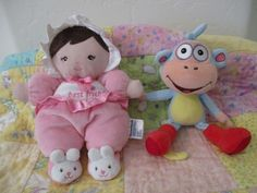 Adorable toys for baby girl plush Best Friend dolly & plush silly monkey Boots