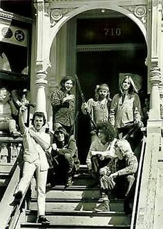 "Haight Ashbury - San Francisco - the Grateful Dead lived across the road from Janis and played ""Drinks on Pearl"" at her wake"