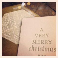 herringbone + letterpress   sugar paper for 2012