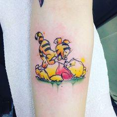"Gefällt 64 Mal, 1 Kommentare - Disney tattoos & more (@lola_love_513) auf Instagram: ""Winnie the Pooh and Tiger#disneyinspired #disneytattoo #lovedisney #winniethepooh"""