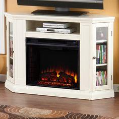 Shop Boston Loft Furnishings Reamrock Electric Fireplace Media Stand
