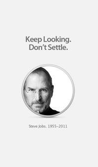 """Keep Looking. Don't Settle ."" -Steve Jobs   #coaching #NLP"