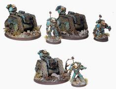 Pre Heresy Alpha Legion Rapiers with Heavy Bolters