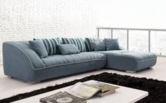 different sectional sofa light blue Blue Sectional Sofa