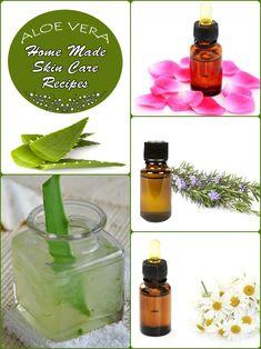 Home Made Aloe Vera Skin Care Recipes and Tips