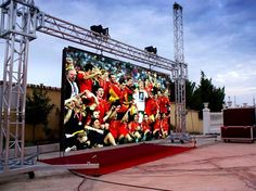 【Outdoor LED Display Solution:PH20 full color screen in Spain】 Good news!Our project was finally completed in Spain,and this project is mainly made up by PH20 full color screen.http://www.sageled.net/case_detail/&productId=33.html