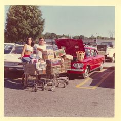 Ralph and Inez like to start each new day with a quick trip to the market just to pick up a few items...