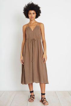 Luna Midi Dress   Apiece Apart