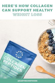Wondering if Collagen Peptides can help you lose weight? Here's everything you need to know! Help Losing Weight, Weight Loss Help, Lose Weight, Weight Loss Snacks, Healthy Weight Loss, Burn Calories Fast, Healthy Lifestyle Habits, Reduce Appetite, Diet Supplements