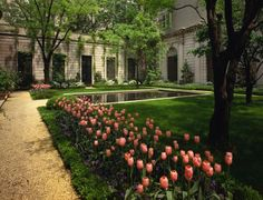 70th Street Garden of The Frick Collection, New York