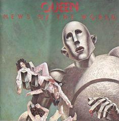 Carátula Frontal de Queen - News Of The World