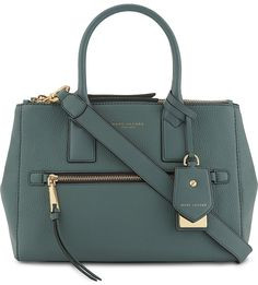 MARC JACOBS Recruit East West leather tote - Sale! Up to 75% OFF! Shot at Stylizio for women's and men's designer handbags, luxury sunglasses, watches, jewelry, purses, wallets, clothes, underwear #Designerhandbags