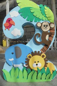 Safari Party, Safari Theme Birthday, Jungle Theme Parties, Safari Birthday Party, Jungle Party, Animal Birthday, Birthday Party Favors, Party Animals, Animal Party