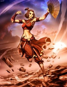 Suki | Avatar The Last Aribender