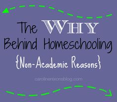 Top 3 reasons I homeschool; and they're not even for academic purposes! - Anchored In His Grace #homeschool