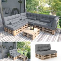 Palettenkissen KALTSCHAUM Kissen Palettensofa Palettenmöbel Palette Couch Sofa … - Pin Tutorial and Ideas Pallet Garden Furniture, Balcony Furniture, Diy Furniture Couch, Diy Outdoor Furniture, Furniture Storage, Furniture Ideas, Diy Sofa, Sofa Ideas, Furniture Websites