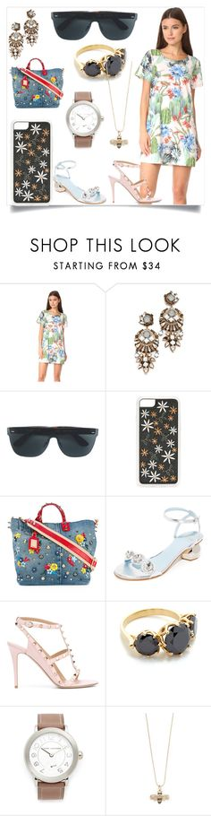 """Fashion Travels"" by mkrish ❤ liked on Polyvore featuring MINKPINK, Erickson Beamon, RetroSuperFuture, Zero Gravity, Dolce&Gabbana, Frances Valentine, Valentino, Jacquie Aiche, Marc Jacobs and Sydney Evan"
