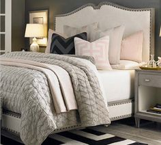 Master Bedroom Gray Walls gorgeous gray-and-white bedrooms | bedrooms | pinterest | bedrooms