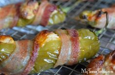 Hatch New Mexico food recipes | Stuffed Hatch Chile Peppers