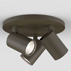 Ascoli Flush Mount Ceiling Light by Astro Lighting - Color: Clear - Finish: Textured White - Track Lighting Fixtures, Ceiling Spotlights, Ceiling Light Fixtures, Ceiling Lights, Salon Interior Design, Hudson Valley Lighting, Flush Mount Ceiling, Lighting Solutions, Modern Lighting